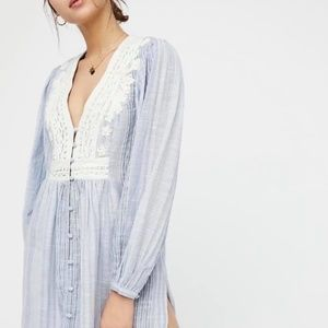 Free People | Higher Ground Embroidered Tu…